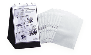 Elba Ausweishülle Dokumentenhülle Kunststoff transparent A5 Ausweis Schutz